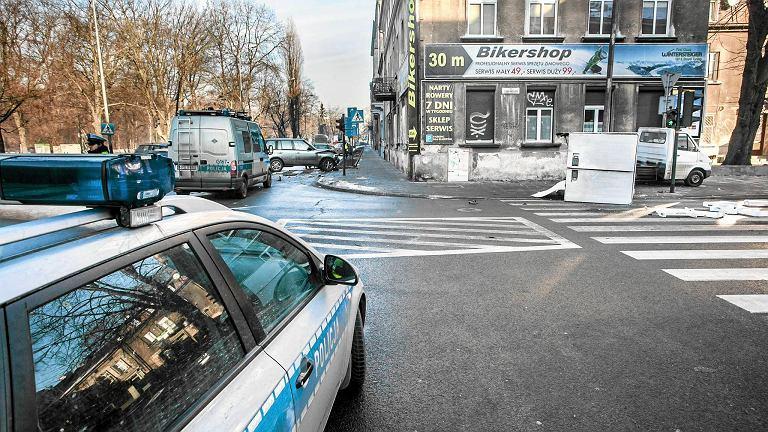 Miejsce końca pościgu za zabójcą krakowskiej prokurator