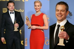 Leonardo DiCaprio, Jennifer Lawrence, Matt Damon