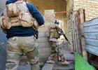 Irackie siły bezpieczeństwa na patrolu