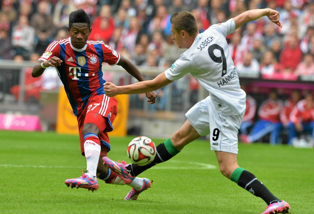 David Alaba i Artur Sobiech