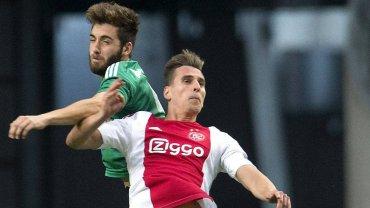 Pi�kny gol Milika nie pom�g�. Ajax odpad� z Ligi Mistrz�w ju� w eliminacjach
