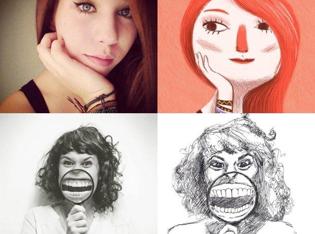 Jak bardzo optymistycznie możesz wyglądać na swoim zdjęciu profilowym? Oni się o tym przekonali [RYSUNKI]