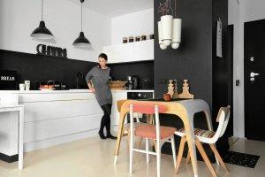 Mieszkanie urz�dzone z pomys�em
