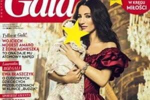 """Justyna Steczkowska z C�RECZK� na ok�adce """"Gali"""""""