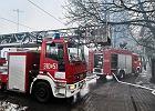 Pożar w browarze w Braniewie. Zapaliła się jedna z hal produkcyjnych
