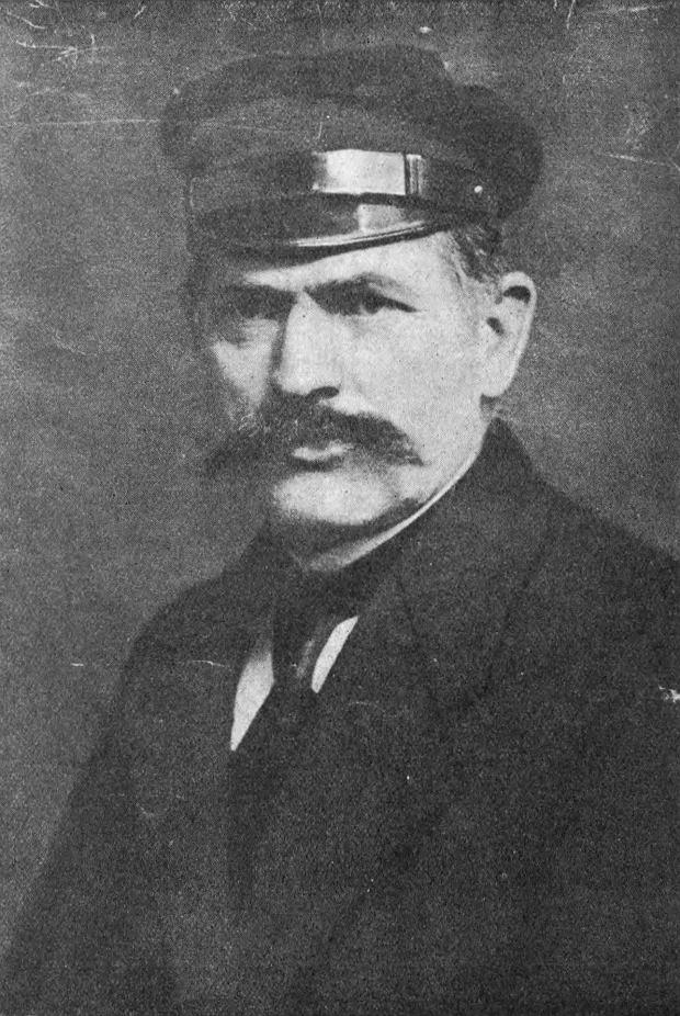 Antoni Abraham, ilustracja z książki Władysława Pniewskiego 'Antoni Abraham (1869-1923). Wielki patrjota z ludu kaszubskiego'