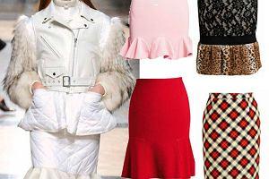 Modny fason: spódnica z falbaną