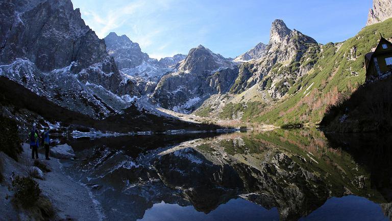 Dolina Kieżmarska (Słowacja), jesień w Tatrach