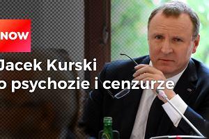 """Jacek Kurski: """"Nie ma żadnej cenzury w telewizji publicznej. Mamy do czynienia jedynie z psychozą"""""""