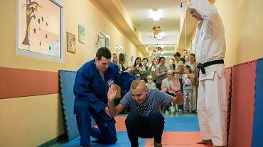 Zawody w Judo na oddziale onkologii w Szpitalu Klinicznym im. Karola Jonschera w Poznaniu