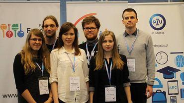 Katarzyna Głowacka, Kajetan Chodorowski, Dominika Bakalarz, Robert Kupis, Joanna Olszewska i Przemysław Gumienny
