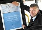 Cytaty z mistrz�w w autobusach prywatnego przewo�nika