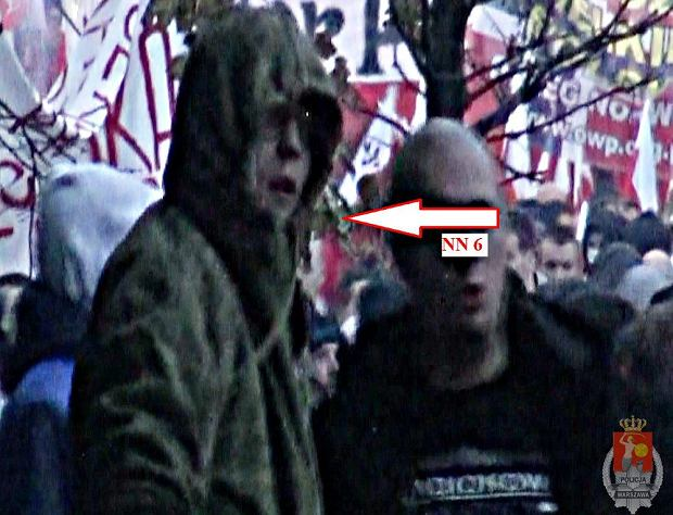 Poszukiwani przez policję zadymiarze z zamieszek w stolicy