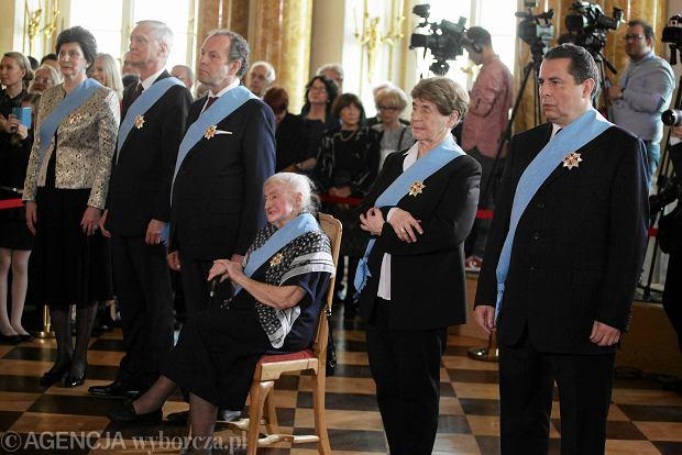 Andrzej Duda wręczył Ordery Orła Białego. Wśród odznaczonych Szewińska, Lorenc, Wildstein