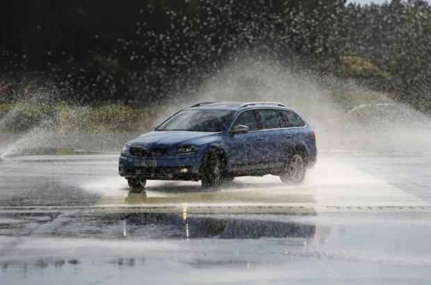 10 lat Szko�y Auto Skoda | Nauka bezpiecze�stwa