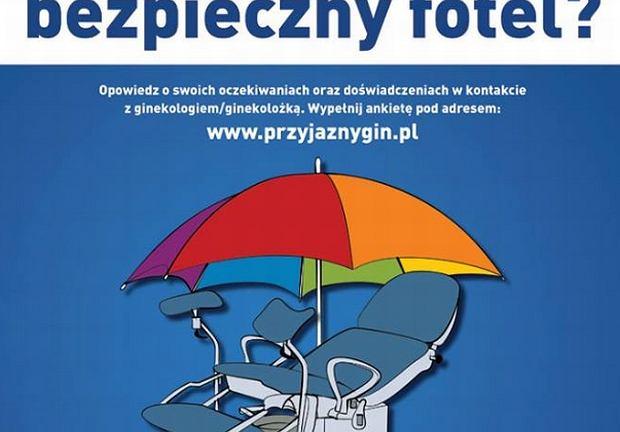 Bezpieczny Fotel? Kampania na rzecz dobrej opieki ginekologicznej