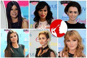 Teen Choice Awards: Najpiękniejsze fryzury i makijaże gwiazd