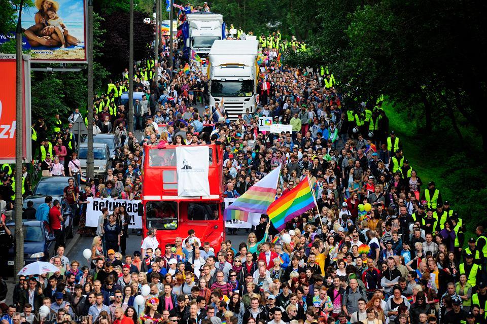 Parada Równości w Warszawie, 14 czerwca 2014 r.