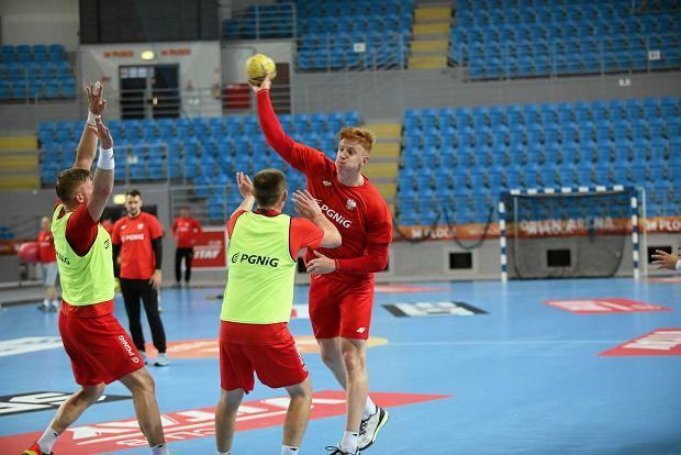 Trening reprezentacji Polski piłkarzy ręcznych