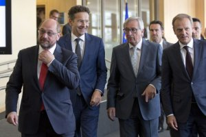 Spotkanie eurogrupy bez porozumienia z Grecj�. Tusk zwo�uje na poniedzia�ek nadzwyczajny szczyt