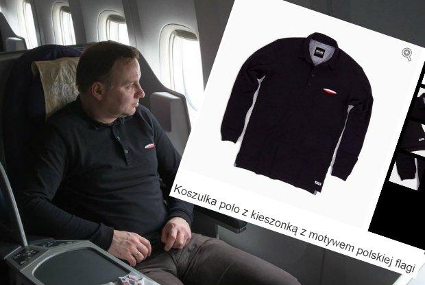 939a18146 Nawet Prezydent to nosi - od koszulek z orzełkiem do 'odzieży ...