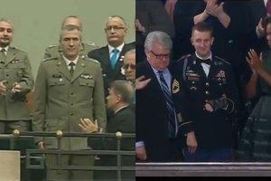 """Kopacz kopiuje Obam�? Identyczny """"chwyt"""" z zaproszeniem weterana widzieli�my w tym roku w Kongresie"""