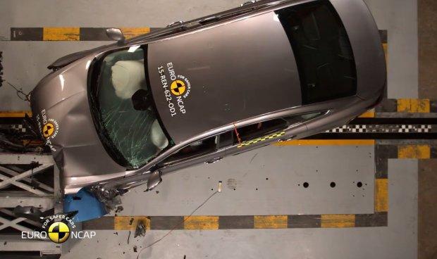 Renault Talisman testy Euro NCAP