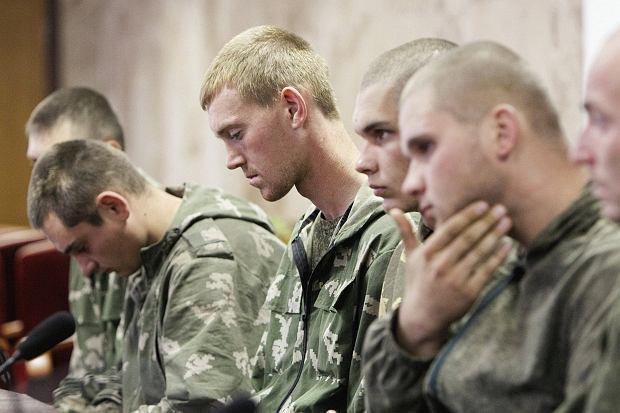 Rosyjscy żołnierze zatrzymani na Ukrainie