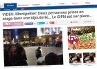 Napad na jubilera w Montpellier