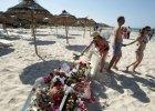 Tunezja, pla�a hotelu Imperial Marhaba dzie� po zamachu