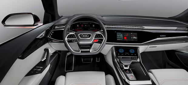 Salon Genewa 2017 Audi Q8 Sport Concept Szybki Suv Z