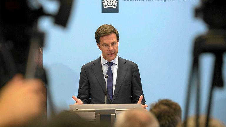 Premier Holandii: Putin ma ostatnią szansę pokazania, że chce pomóc