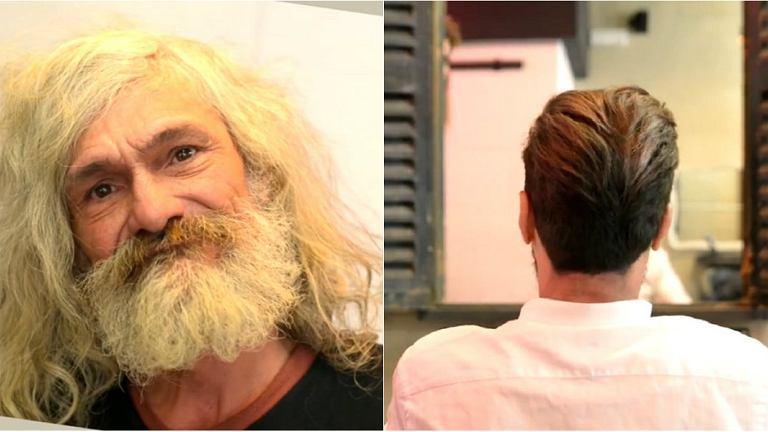 Jose przed i po metamorfozie. Trudno go poznać.