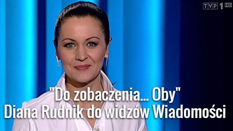 Diana Rudnik, Wiadomości 1 stycznia 2015