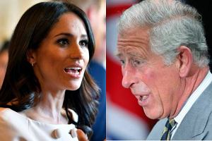 Meghan Markle kratkuje księcia Karola jak bankomat