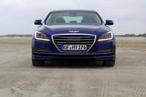 Hyundai Genesis | Pierwsza jazda | Demonstracja mo�liwo�ci