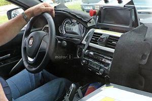 Prototypy | BMW Serii 3 | Zupełnie nowe wnętrze