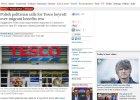 Czy Cameron przestraszy si� PSL? Brytyjskie media opisuj� wezwanie ludowc�w do bojkotu sieci Tesco
