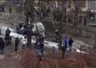 Kolejne zamachy terrorystyczne w Charkowie. Ranny jest komendant ochotniczego batalionu