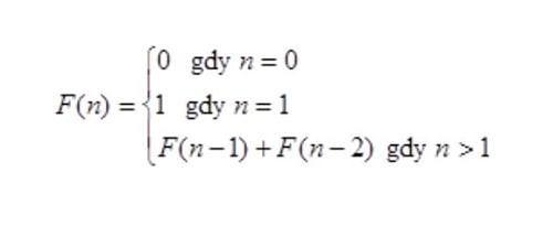 Wzór na ciąg Fibonacciego