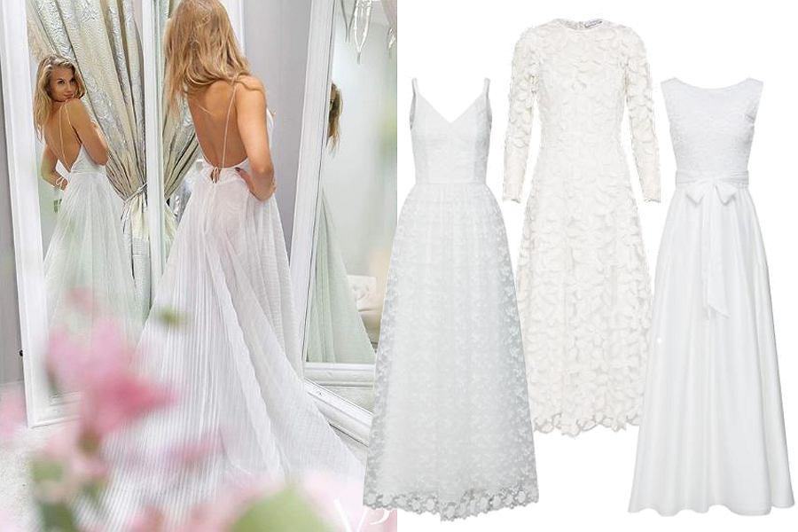 5f23417a16 Suknia ślubna za mniej niż 1000 zł. Mamy krótkie i długie sukienki ...
