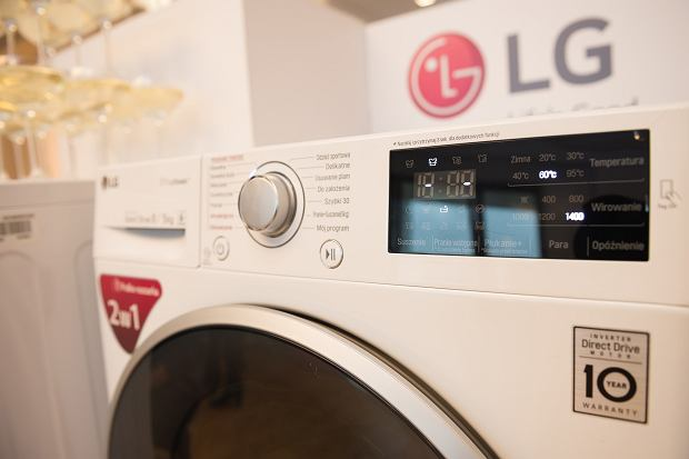 washing machine with dryer LG 6  Motion