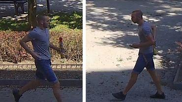 Poszukiwany mężczyzna podejrzany o uszkodzenie lexusa na wrocławskim Nadodrzu