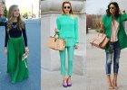 Zielone ubrania na wiosn� - odkryj najpi�kniejsze modele