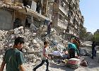 """Rosja przerwie w czwartek bombardowania Aleppo. """"Przerwa humanitarna"""""""