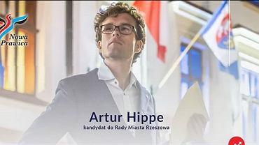 Artur Hippe, kandydat KNP do Rady Miasta Rzeszowa