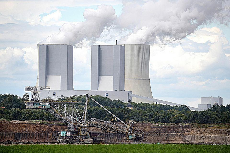 Niemiecki węgiel. Kopalnia odkrywkowa węgla brunatnego w sąsiedztwie elektrowni, okolice Pödelwitz, 6 września 2017 r.