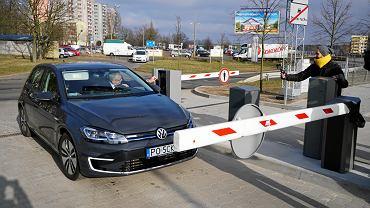 Park&ride przy PST Szymanowskiego - otwarcie pierwszego tego typu parkingu w Poznaniu