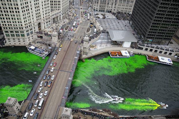 Dzień św. Patryka w Chicago