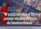 """""""W Syrii idealna pogoda do przeprowadzania nalotów"""" - mówi pogodynka w rosyjskiej telewizji"""